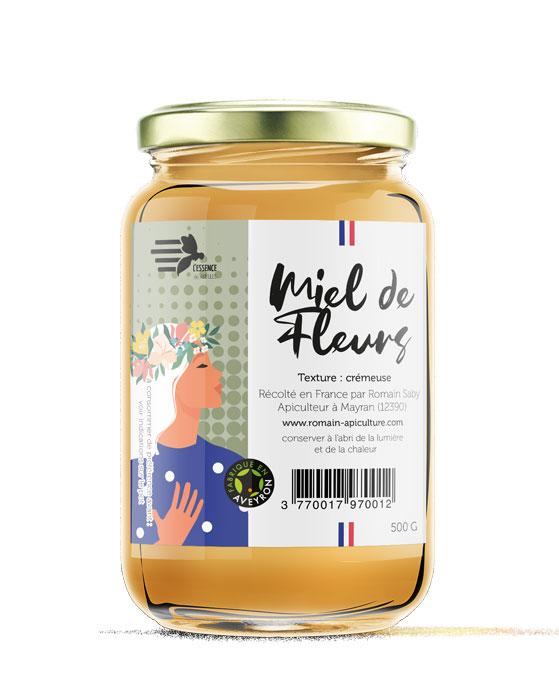 L'essence des abeilles - Etiquettes
