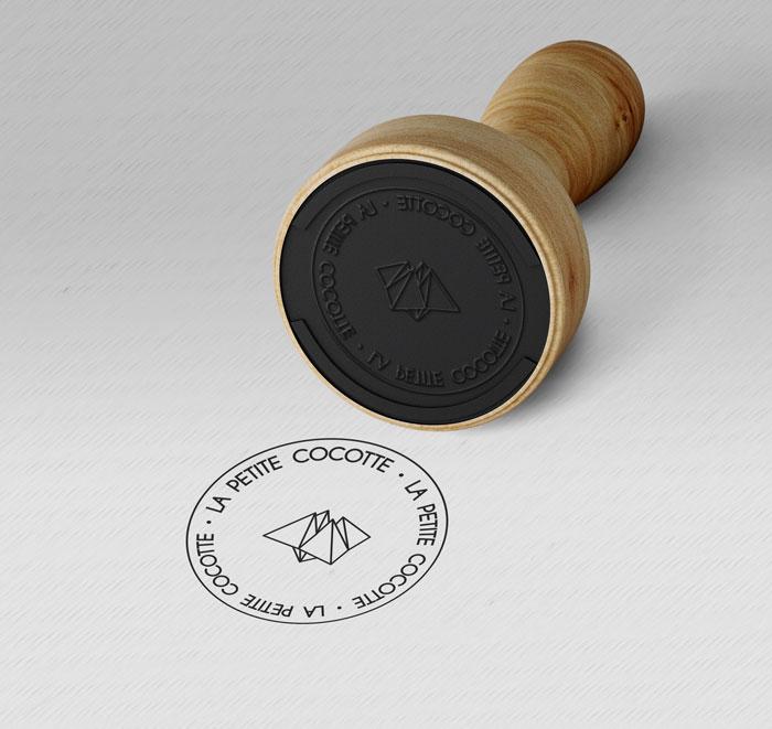 La Petite Cocotte - Déclinaison identité de marque