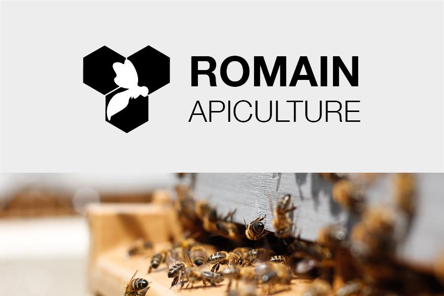 Romain Apiculture - Déclinaison identité de marque