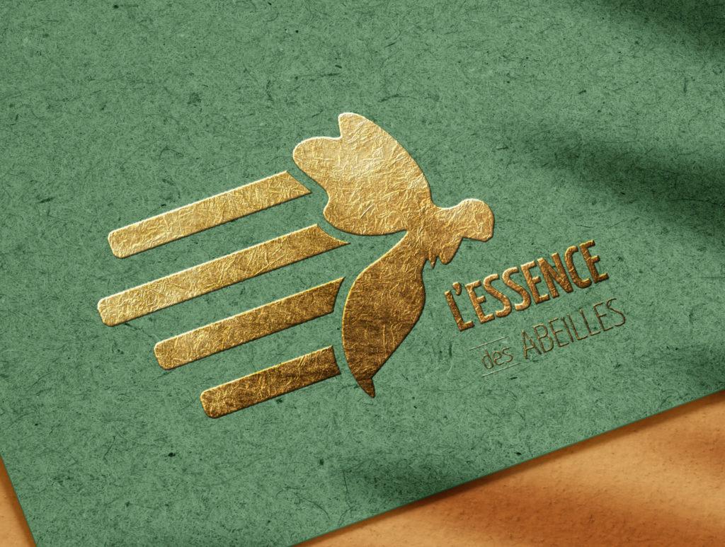 Logo l'essence des abeilles
